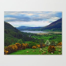 Bassenthwaite Lake Canvas Print