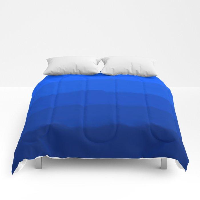 Endless Sea of Blue Comforters