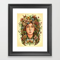 Mother Nature's Daughter Framed Art Print