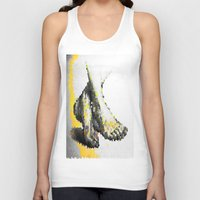 feet Tank Tops featuring Crystal Feet by Latidra Washington