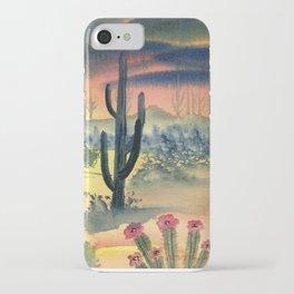 Desert Twilight iPhone Case