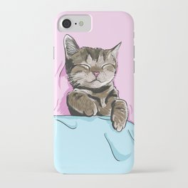 Sleeping Cat iPhone Case