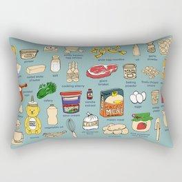 Ingredients Rectangular Pillow