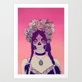 Lady Fy Art Print