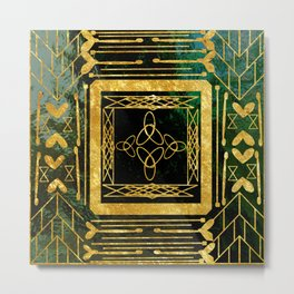Folk Art Deco Metal Print