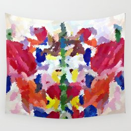 Watercolor Butterfly Wall Tapestry