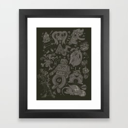 Hodge Podge Framed Art Print