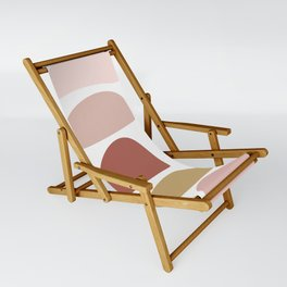 Pretty Stones in Terracotta and Blush Sling Chair