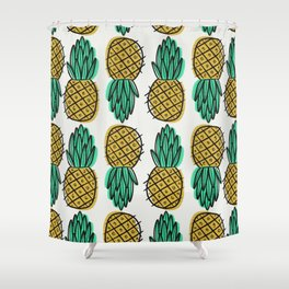 You're a FINE-Apple. Shower Curtain