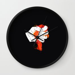 MELTING 2 Wall Clock