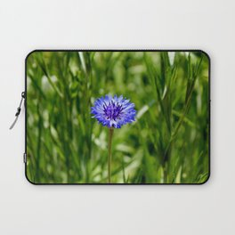 Blue Cornflower Laptop Sleeve