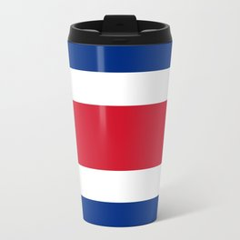 Flag of costa rica Travel Mug