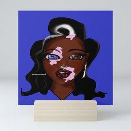 Shades of Beauty Mini Art Print