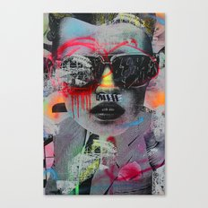 Graffiti Wall NYC Canvas Print