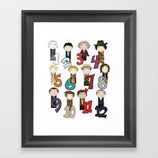 Count With the Doctors Framed Art Print