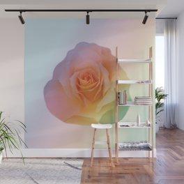 Rainbow rose of joy Wall Mural