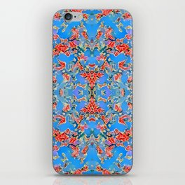 Deep Style Digital Pattern and Butterfly 06 iPhone Skin