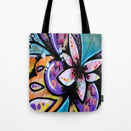 Bright Butterfly Tote Bag