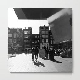 loving walk in Amsterdam Metal Print