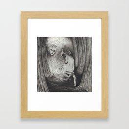 Eikthyrni Framed Art Print
