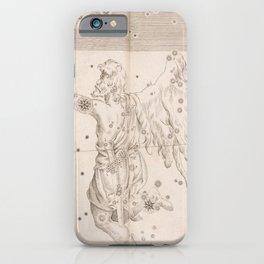 Johann Bayer - Uranometria / Measuring the Heavens (1661) - 33 Orion iPhone Case
