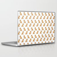 corgi Laptop & iPad Skins featuring C2 by alyruko