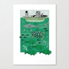 Sea Traffic Canvas Print