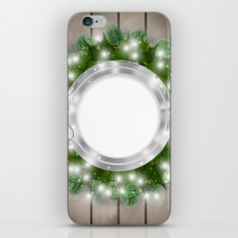Christmas decoration iPhone Skin