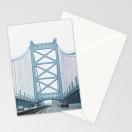 The Ben Franklin Bridge Stationery Cards
