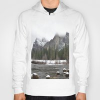 yosemite Hoodies featuring Yosemite by Lydia Gifford