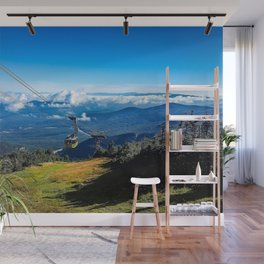 Cannon Mountain's Aerial Tramway Wall Mural