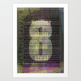 8 Art Print