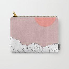 Geometric Landscape 17 Carry-All Pouch