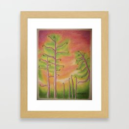 Fiddleheads Framed Art Print