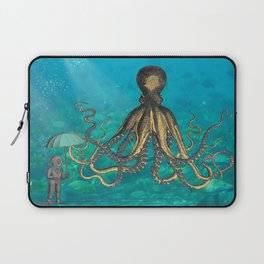 Octopus & The Diver Laptop Sleeve