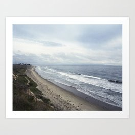 Central California  Art Print