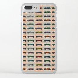 Alfa Romeo pattern Clear iPhone Case