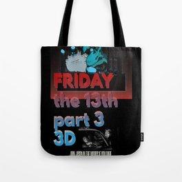 Friday the13th 3D Custom art print Tote Bag