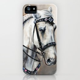 Justo iPhone Case