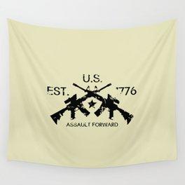 M4 Assault Rifles - U.S. Est. 1776 Wall Tapestry