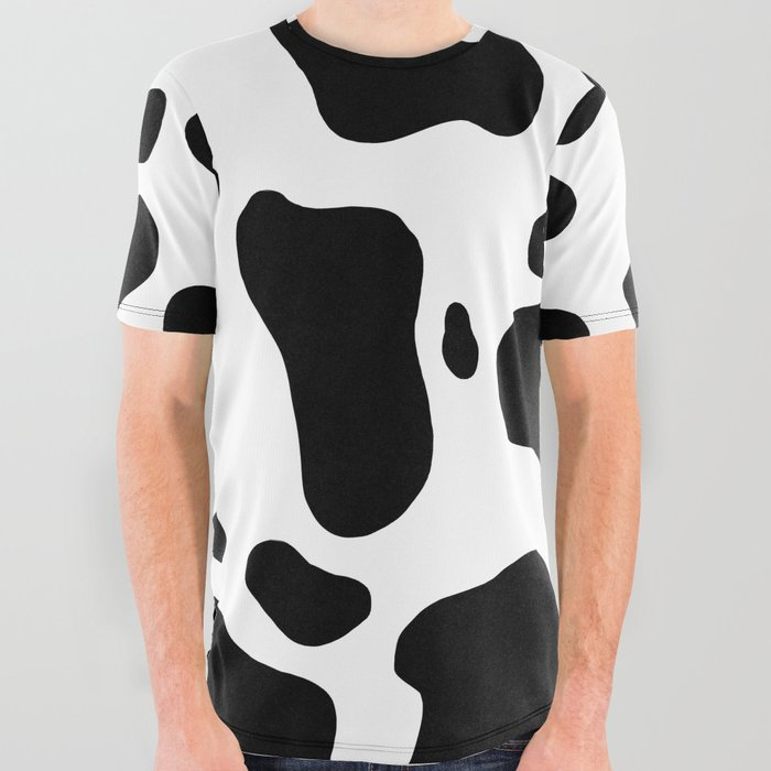 Cow Hide All Over Graphic Tee