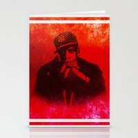 jay z Stationery Cards featuring Jay by Fimbis