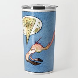 Flamingo Vomit Travel Mug