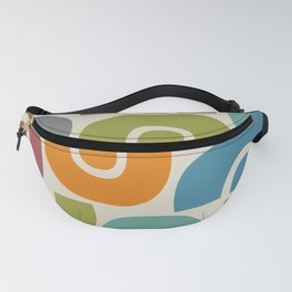 Mid Century Modern Abstract Composition 519 Fanny Pack