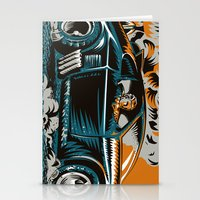 mad max Stationery Cards featuring Mad Max by Francesco Dibattista