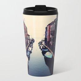 Rainy day in Burano Travel Mug