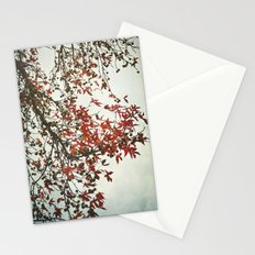 Scarlet Autumn Stationery Cards