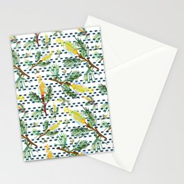 Beautiful Australian Native Grevillea Flower Print Stationery Cards