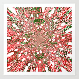Merry Christmas, Happy Holidays Art Print
