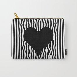 Heart optical illusion #society6 #decor #buyart #artprint Carry-All Pouch